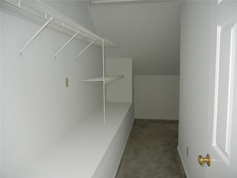 Extra walk in closet on second is as big as it looks!