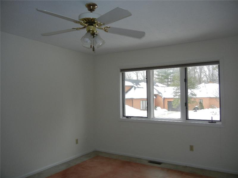Convenient first floor master bedroom!