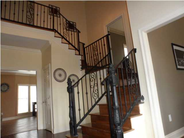 Entrance - Wrought Iron Staircase