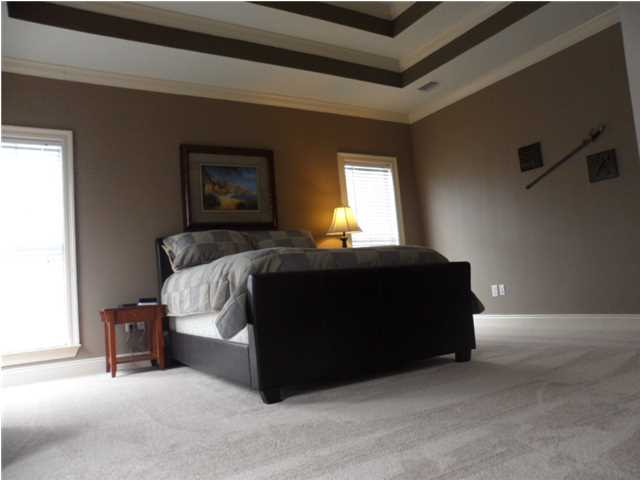 Master Suite: Double Trey Ceiling